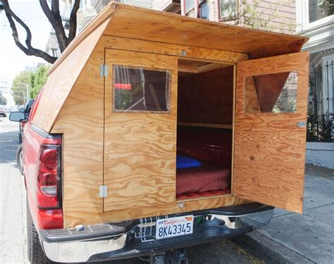 Plans-To-Build-A-Truck-Bed-Camper