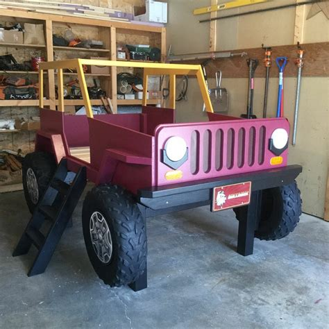 Plans-To-Build-A-Twin-Size-Jeep-Bed