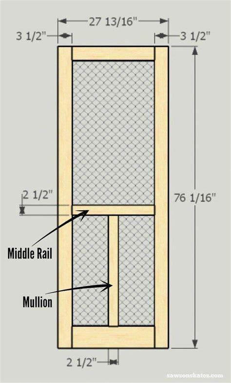 Plans-To-Build-A-Wooden-Screen-Door