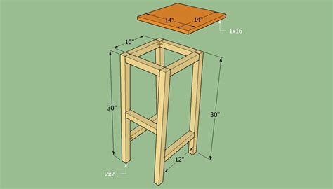 Plans-To-Build-Wooden-Bar-Stools