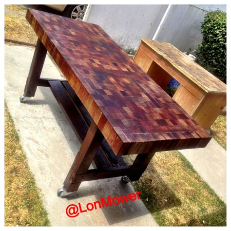 Plans-To-Make-A-Butcher-Block-Table