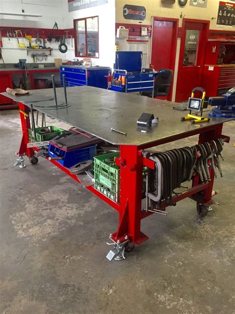 Plans-To-Make-A-Welding-Table