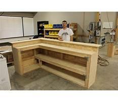 Best Plans building a bar