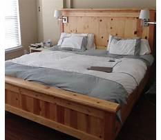 Best Plans for a single bed frame