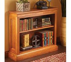 Best Plans for a small bookcase