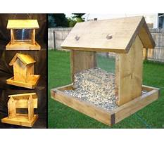 Best Plans for birdhouses and feeders