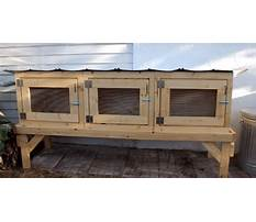 Best Plans for building a hutch