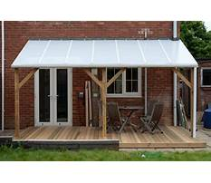 Best Plans for building a lean to roof