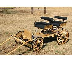 Best Plans for building a miniature horse cart