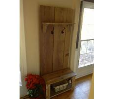 Best Plans for hall tree storage bench