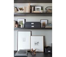 Best Plans for home office shelving