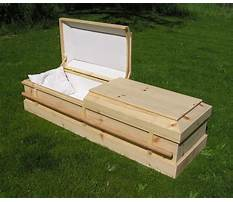 Best Plans for homemade casket