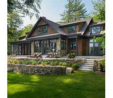 Best Plans for lake homes