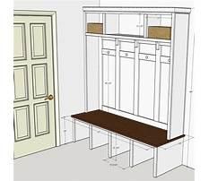 Best Plans for mudroom bench locker