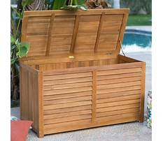 Best Plans for outdoor wooden storage box