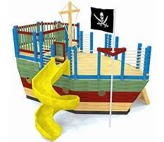 Best Plans for pirate ship playset