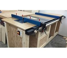 Best Plans for table saw cabinet