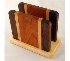 Best Plans for wood napkin holder