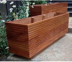 Best Plans for wooden flower boxes