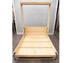 Best Plans on how to build a murphy bed