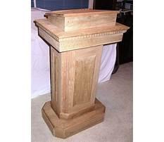 Best Plans to build a pulpit