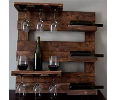 Best Plans to build a wine glass rack