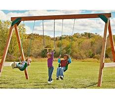 Best Plans to build swing set