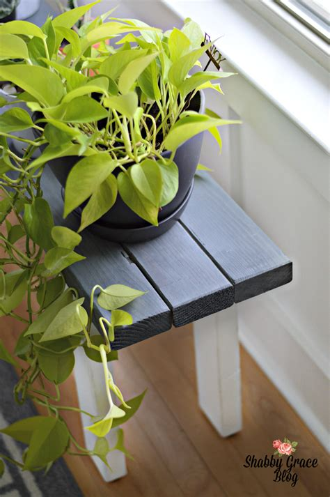 Plant Stand Wood Diy Crafts