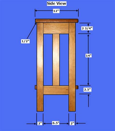 Plant-Stand-Woodworking-Plans