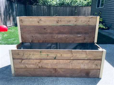 Planter Boxes DIY 2 Tier
