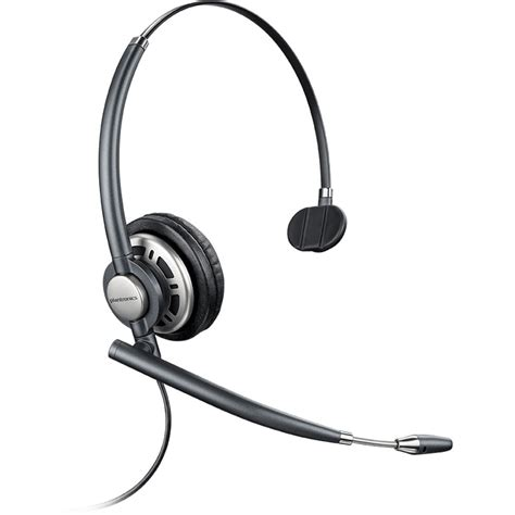 Plantronics Encore Monaural Headset & Vista Amp Includes 1 Extra Voice Tube