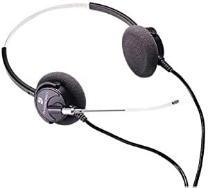 Plantronics Supra Binaural Headset Includes 1 Extra Voice Tube