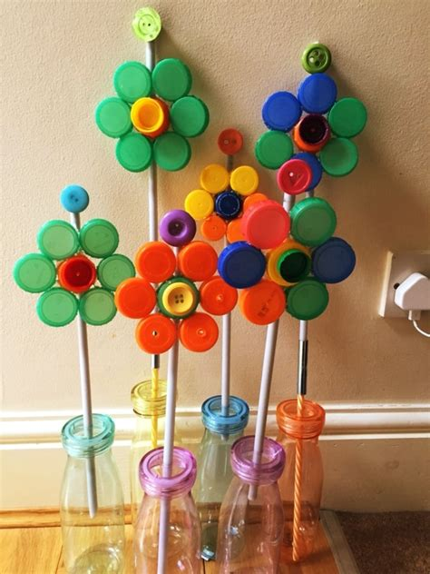 Plastic Bottle Cap Diy Projects