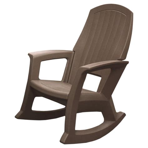 Plastic Resin Rocking Chair