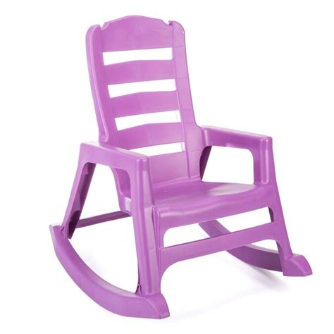 Plastic Rocking Chair For Large Kids
