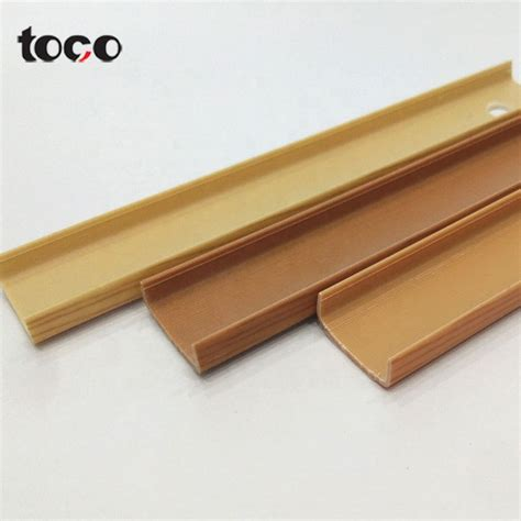 Plastic Shelf Trim Edge Molding