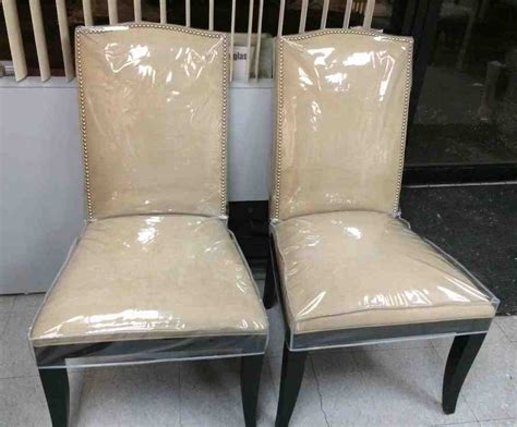 Plastic Slipcovers Dining Room Chairs