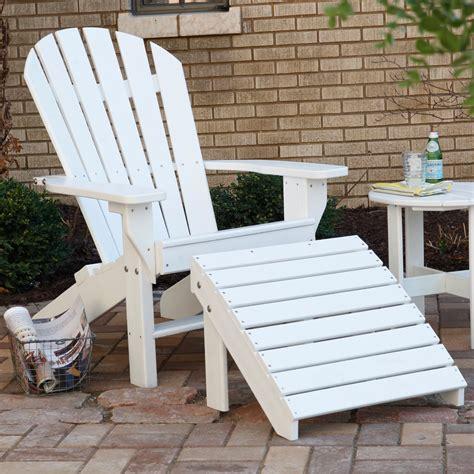 Plastic-Adirondack-Chair-And-Ottoman