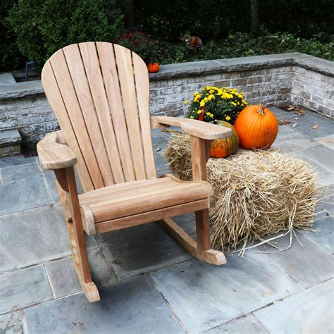Plastic-Adirondack-Chairs-With-Teak-Table