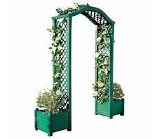 Best Plastic garden archway