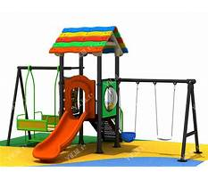 Best Plastic swing sets australia