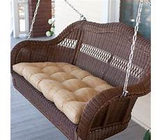Best Plastic wicker porch swing