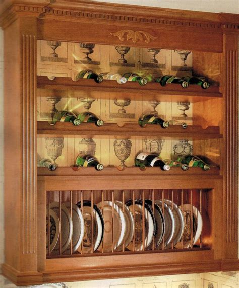 Plate Display Shelf Woodworking Plans