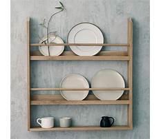 Best Plate display shelf woodworking plans