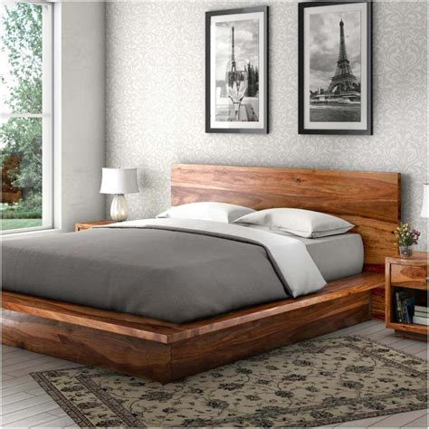 Platform Bed Oak Plan Diy Gutter