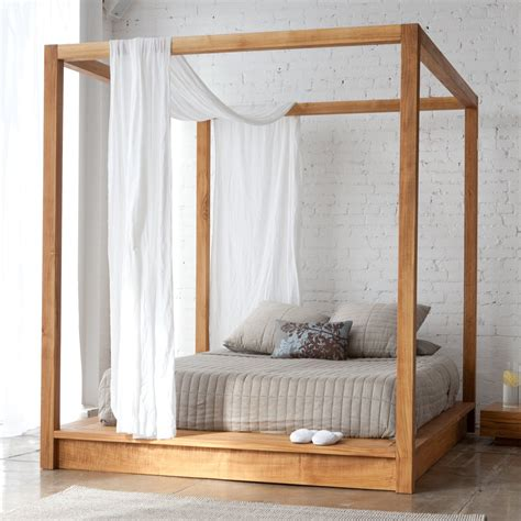 Platform Canopy Bed Diy