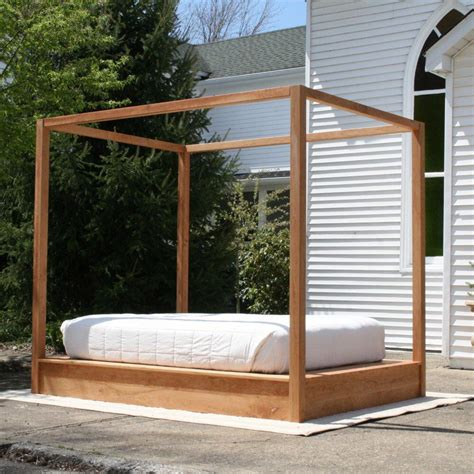 Platform Canopy Bed Diy Rail
