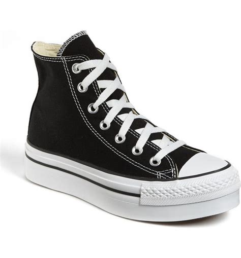 Platform High Top Converse Sneakers