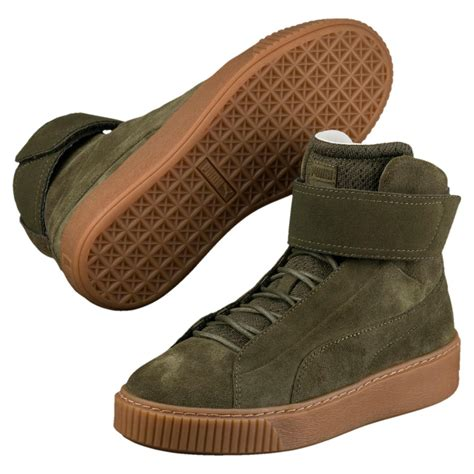 Platform Mid Ow Women's High Top Sneakers Puma