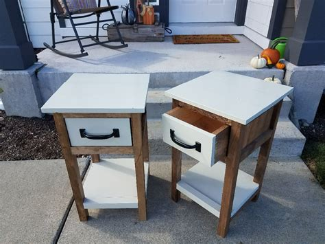 Platform-Bed-With-Sidetable-Plans